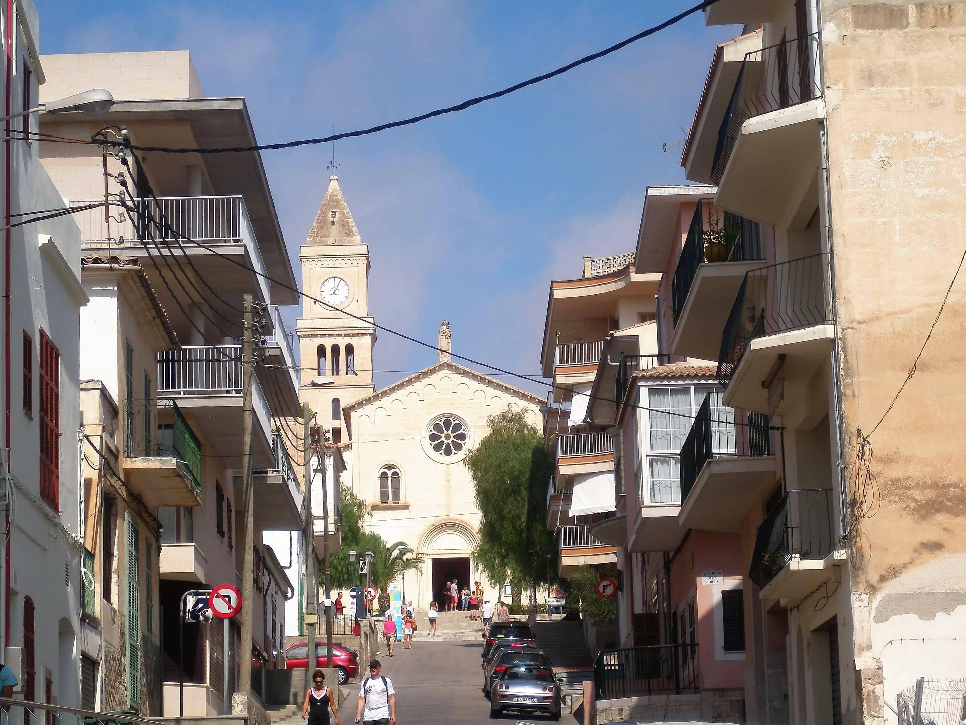 iglesia de porto cristo